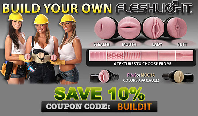 coupon code for Build Your Own Fleshlight