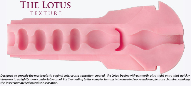 lotus Fleshlight masturbation sleeve